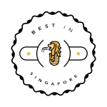 Best in Singapore Badge No BG